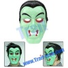 Green Vampire Style Mask For The Coming Halloween