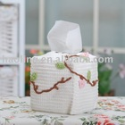 Crochet Paper Box/knitting paper box/paper box