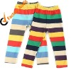 rainbow stripe children cotton legging