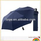 Autonomous 3 folding umbrella