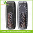 Environmental green electronic cigarette lighter with LED light