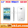 Star N9330 1gb RAM I9300 s3 MTK 6577 5.5Inch Android 4.0 S3 phone