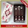 Decorative tableware cutlery set