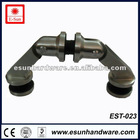 office sliding door stainless steel glass door connector - (EST-023)