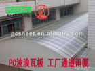 Polycarbonate high quality Corrugated Sheet for building