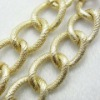 Hot Wholesale 2012 Golden Aluminium Chains for jewelry Necklace and Bracelet