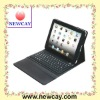 Protective Leather Case for iPad with Wireless Built-in Bluetooth Keyboard