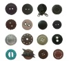 2012 Leather fashion button
