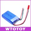 Mystery 7.4V 25C 900mAh Li-Poly Battery for RC Helicopter Plane