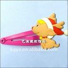 Cartoon plastic hair ribbons