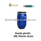 30L plastic barrels bucket