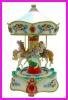 Novelty Mini Carousel Horse For Desk Gifts