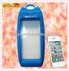 Fashion waterproof silicone leading edge phone case