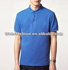 Men's fashionable plain polo t-shirt