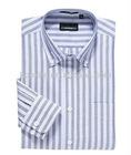 Fine Oxford easy-care long-sleeve shirts for men