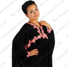 (KJ-WAB6008)Hight qulity Abaya muslim women elastic silk ice modest high quality fashion arabic long dress
