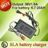 3-stage charging 36V SLA battery charger for electric bike