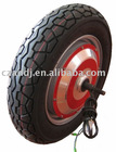CE-approved 48v-500w brushless powered wheel