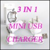 3 in 1 for the USA /EU type iPhone Charger