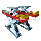 Scissor Lift of X3D Wheel Alignment