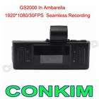 HOT GS2000 Car Camera Camcorder FHD 1080P Built In GPS&G-SENSOR With Seamless Recording
