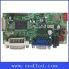 PC monitor board support VGA/DVI