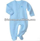 Organic baby autumn romper with factory direct price