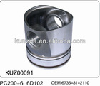 PISTON komatsu excavator spares PISTON PC200/300/400series