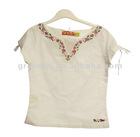 Pretty Cotton Embroidered Girls' Blouse