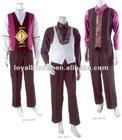 Men's waistcoat uniforms