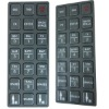 Tactile Embossed Keypad PET Nameplate