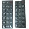Tactile Embossed Keypad PET Nameplate