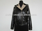 lamb leather garment jacket for ladies