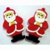 3D PVC Christmas keychains/Santa Claus keychains