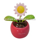 High Quality Solar Dancing Flower Car Decoration