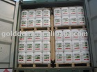 Glyphosate 360 SL packed in UN-approved HDPE drums of 20 liter net each on CP pallets with air bag dunnages