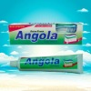 Angola disposable toothbrush with toothpaste