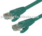 Professional 23AWG Copper UTP Cat6e Patch cable