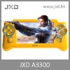 "JXD A3300 Support Sony PS1 games, Arcade games, Nintendo(GBA and SFC) games and Flash games etc.with 4.3""Resistive Touch Screen"