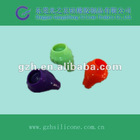 2012 cute colorful silicone earphone cover