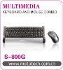 2.4G wireless splash-proof keyboard & mouse combo