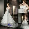 Satin Sweet Heat Strapless A-line Bridal Dresses Wedding Dress