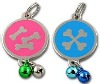 Fashionable and Various colors Enamel Pet Tag
