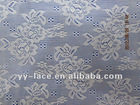 2012 fashion nylon raschel swiss stretch jacquard lace fabric