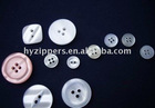 Fashionable design and best price Men's shirt buttons