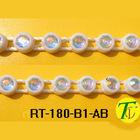 2012 New bling Glass rhinestone AB color trimming(RT-180-B1-AB)