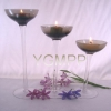 Glassware,taper candle holder,candlestick,stick candle holder