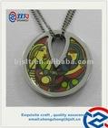 High quality titanium enamel Pendant