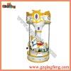 Amusement park game machine - 3 players Revolving little horse