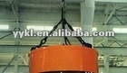 Double beams DC electromagnetic magnetizer crane